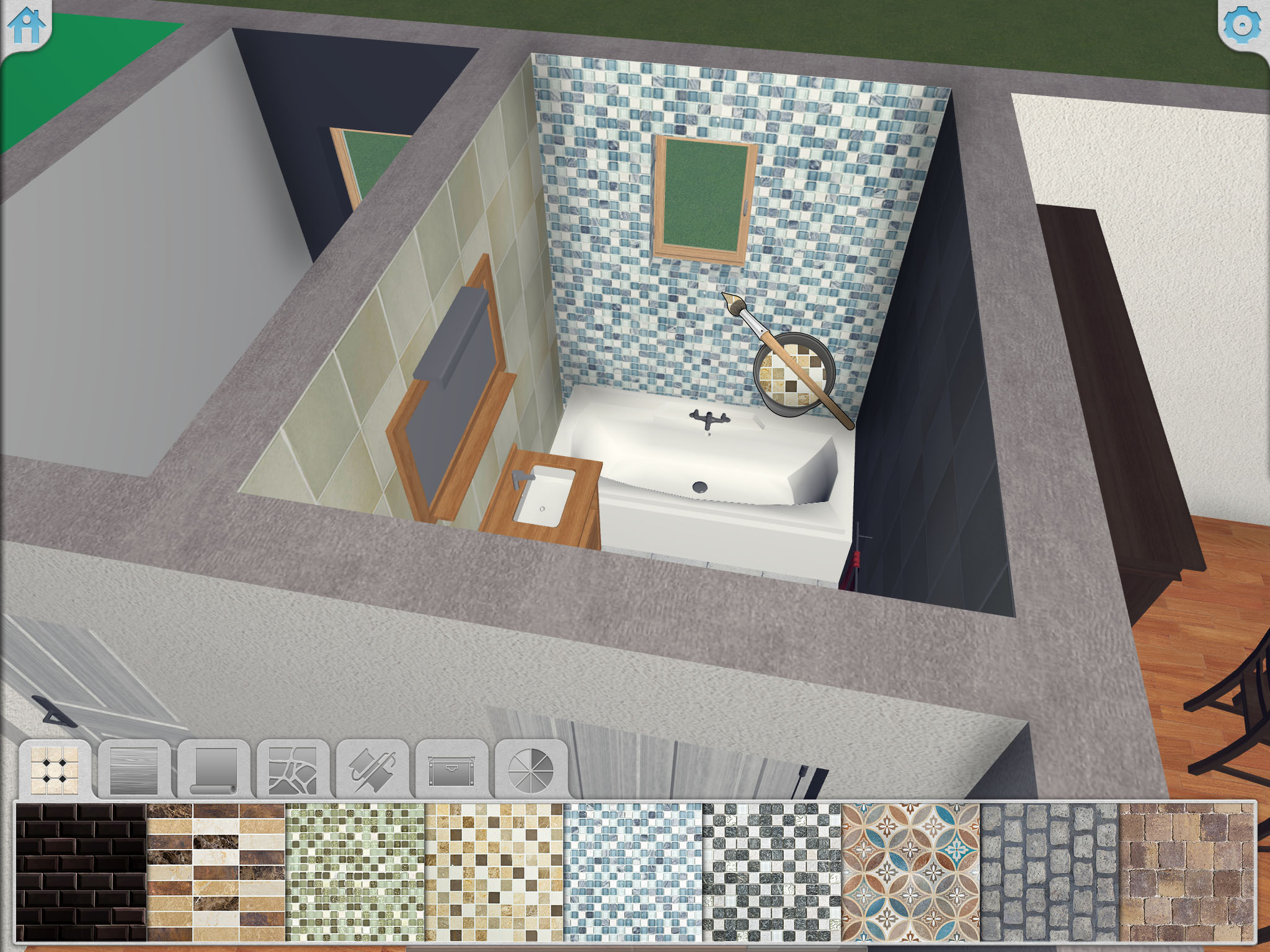 Paint Your Bathroom Using Keyplan 3D On IPhone The House Design App