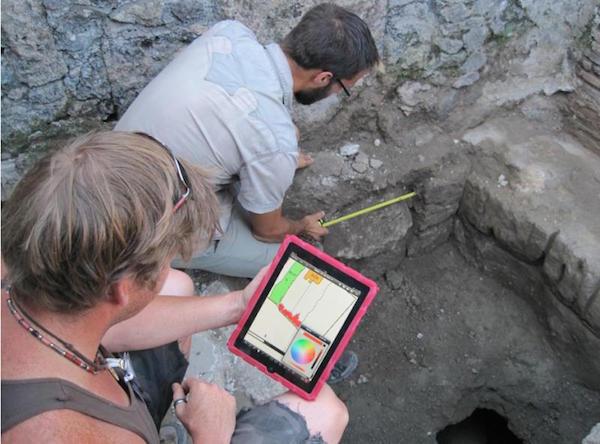 Tablette et Archéologie